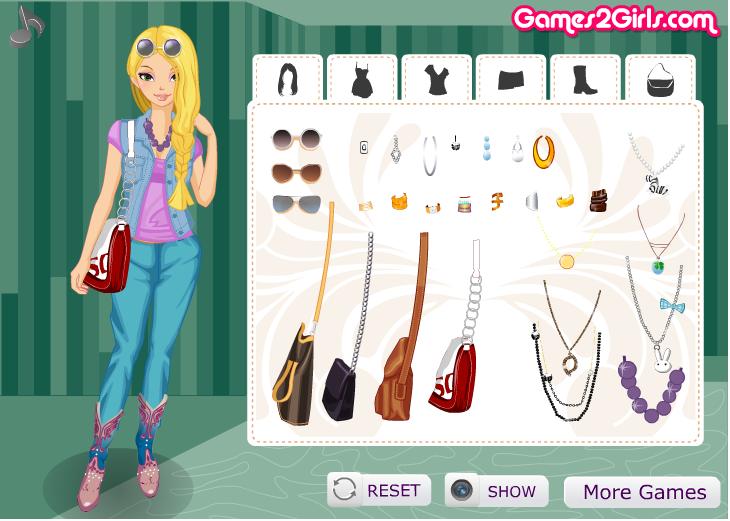 Игра Девушка с обложки онлайн