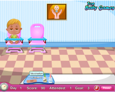 Игра Детская клиника онлайн