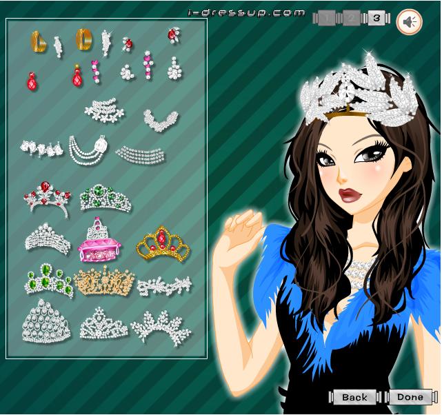 Игра Диадемы онлайн
