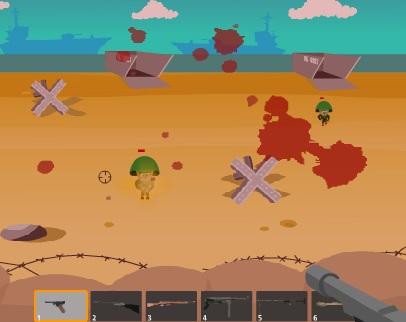 Игра Защита территории онлайн