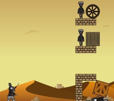Игра Заяц снайпер онлайн