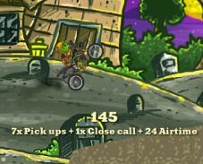 Игра Зомби на мотоцикле онлайн
