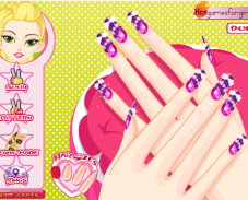 Игра Красота ногтей онлайн