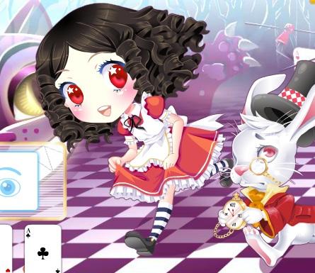 Игра Одевалка Алиса онлайн