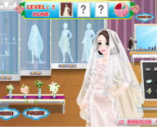 Игра Одевалка Барби невеста онлайн