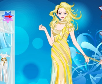 Игра Одевалка богиня онлайн