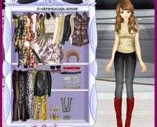 Игра Одевалка весна онлайн
