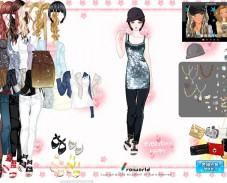 Игра Одевалка вечеринка онлайн