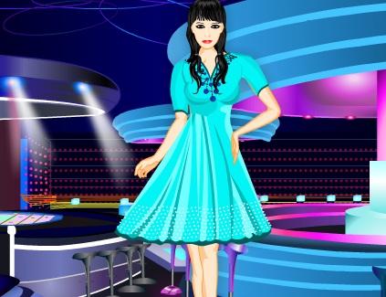 Игра Одевалка вечерние платья онлайн