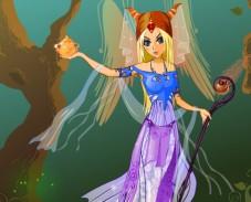 Игра Одевалка волшебница онлайн