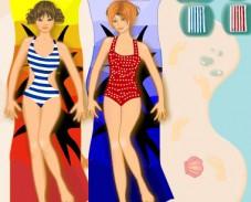 Игра Одевалка всё для пляжа онлайн