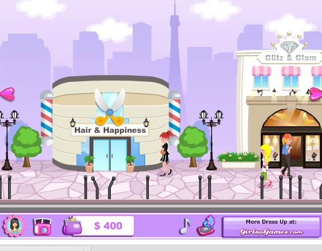 Игра Одевалка в Париж онлайн