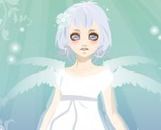 Игра Одевалка девочка ангел онлайн