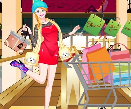 Игра Одевалка за покупками онлайн