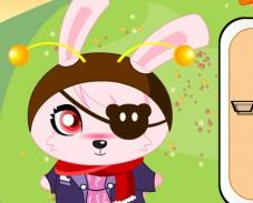 Игра Одевалка кролик онлайн