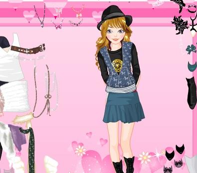 Игра Одевалка летняя мода онлайн