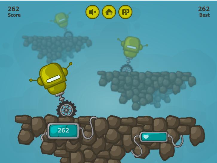 Игра Одно колесо онлайн