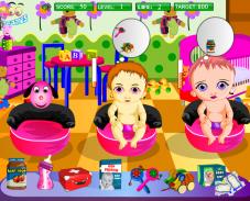 Игра Покорми малышей онлайн