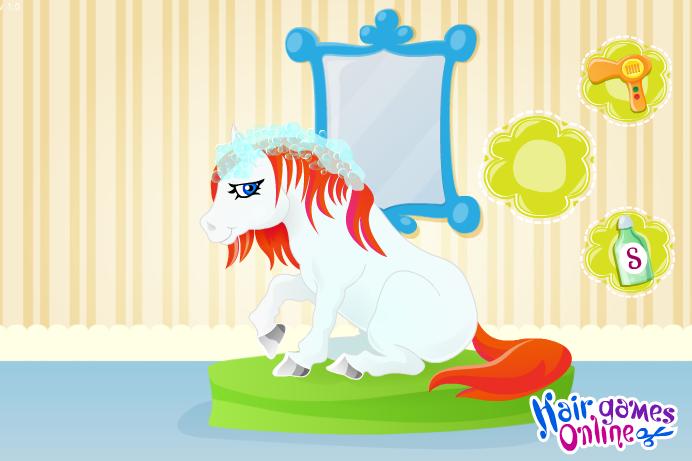 Игра Причёска для пони онлайн