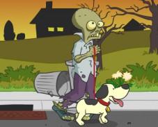 Игра Прогулка с собакой онлайн