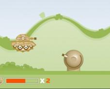 Игра Прыгающий танк онлайн