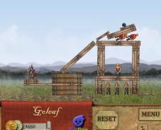 Игра Пушка Леонардо онлайн
