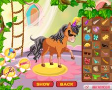 Игра Салон для лошади онлайн
