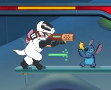 Игра Стич лазерная атака онлайн