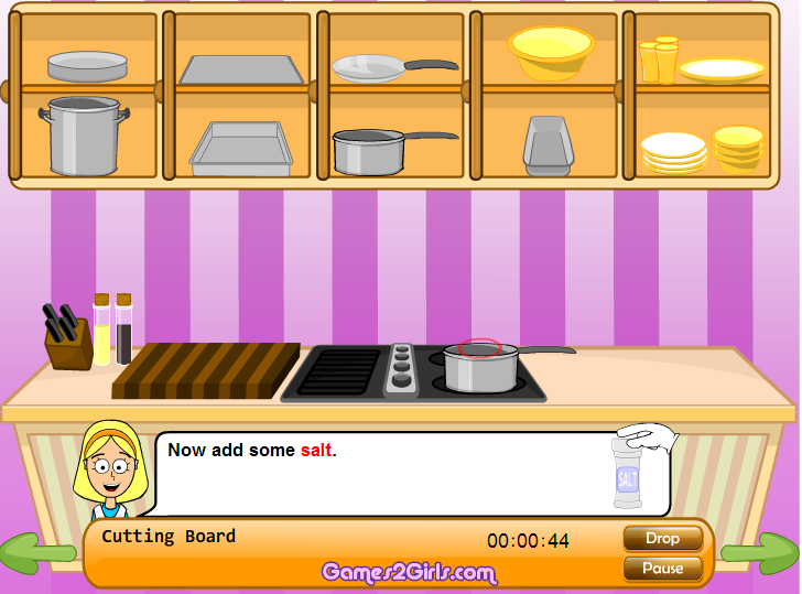 Игра Супер ужин 6 онлайн