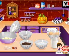 Игра Хэллоуинские кексы онлайн