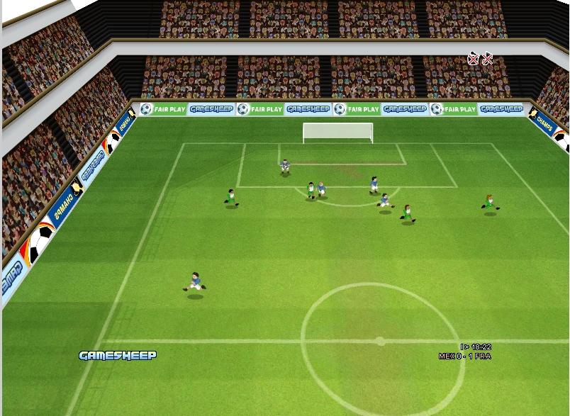 Игра Чемпионы футбола 3д онлайн