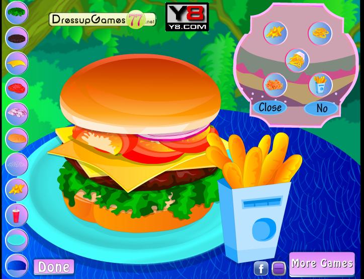 Игра Чизбургер онлайн
