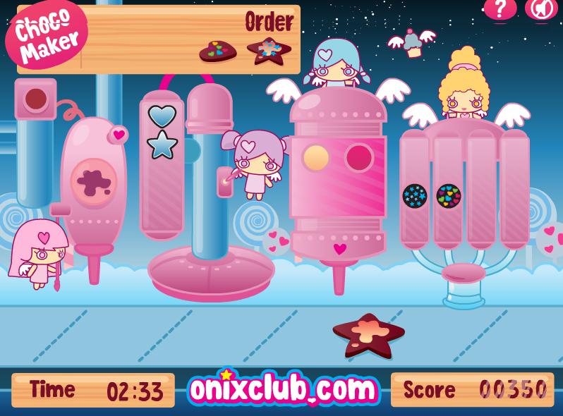 Игра Шоколадная Фабрика онлайн