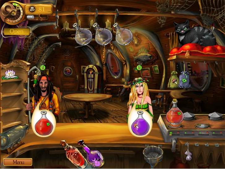 Игра Бар зелья онлайн