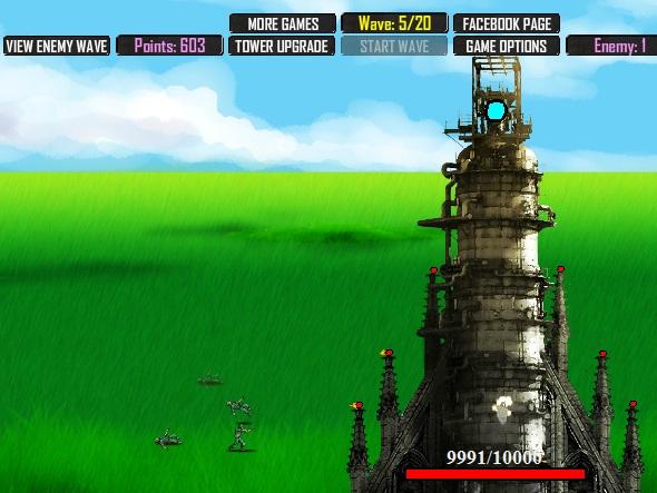 Игра Боевая башня онлайн