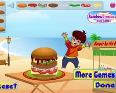 Игра Бургер Мания онлайн