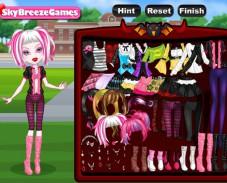 Игра Вампир в школе онлайн