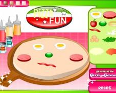 Игра Веселая пицца онлайн