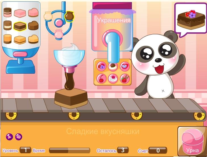 Игра Вкусняшки онлайн