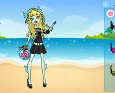 Игра Водяная девочка онлайн