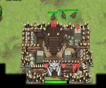 Игра Война с орками онлайн