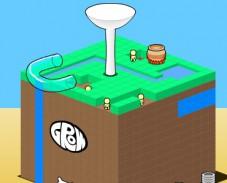 Игра Вырасти куб онлайн