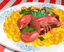Игра Готовим макароны онлайн
