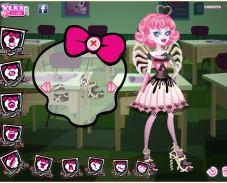 Игра Девочка из Школы монстров онлайн