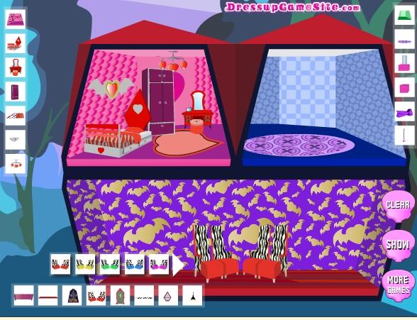 Игра Домик для монстров онлайн