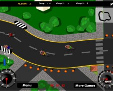 Игра Дорожная гонка онлайн
