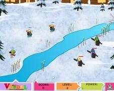 Игра Драка пингвинов онлайн