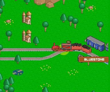 Игра Железнодорожная долина онлайн