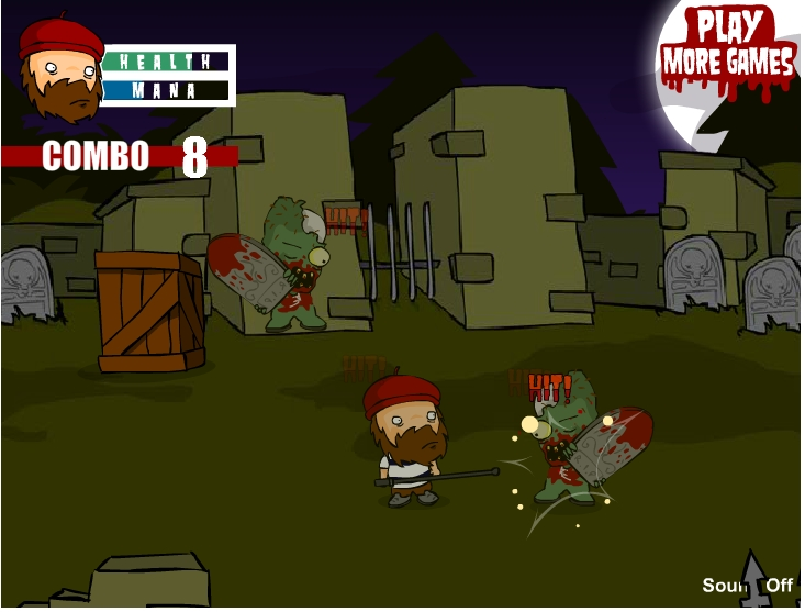 Игра Зомби атакуют онлайн
