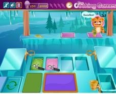 Игра Кафе У Барби онлайн